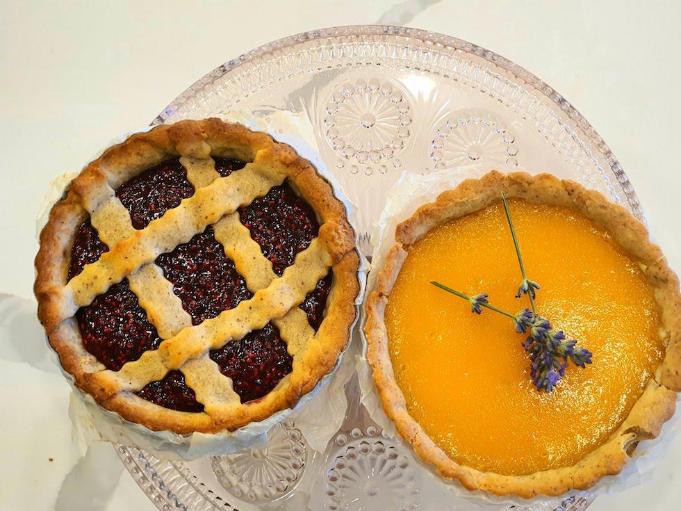 Haz tu Linzer Torte / tartas de frutas estilo Centro-Europeo