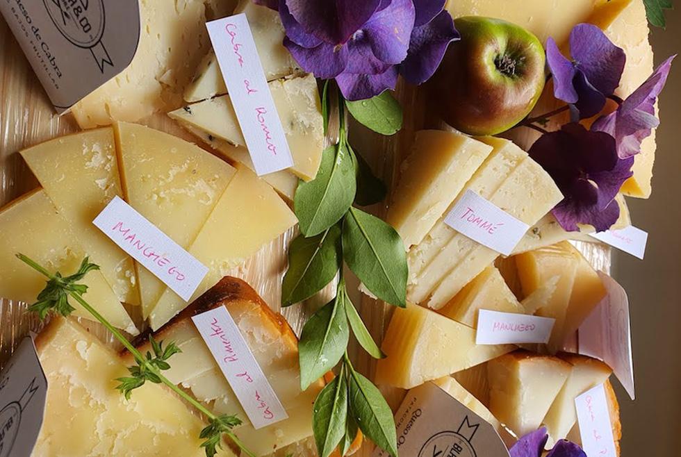 Tablas de quesos locales