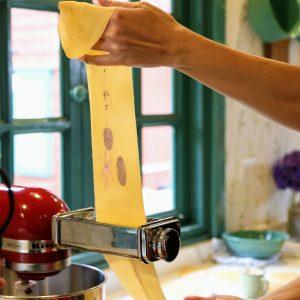 Estampación de pasta fresca